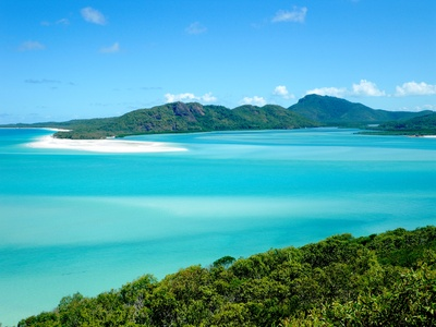 Whitsunday Island dans le Queensland - Australie